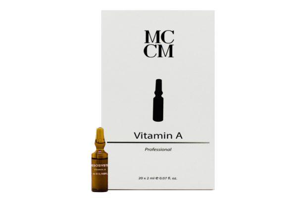 Vitamin A, Mesotherapie