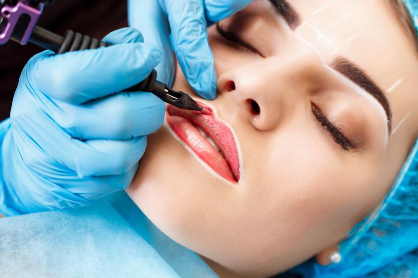"""• Augenbrauen-Härchen-Zeichnung und -Schattierung • Lidstrichzeichnung • Wimpernkranz-Verdichtung • Lippen-Konturierung und -Schattierung • Ausbildung """"Mikroblading"""""""